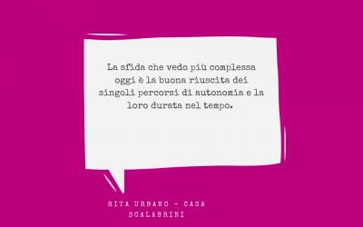 #integrazionedidomani – Rita di Casa Scalabrini per la nostra rubrica